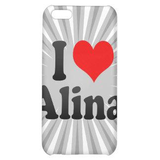 I love Alina iPhone 5C Cases