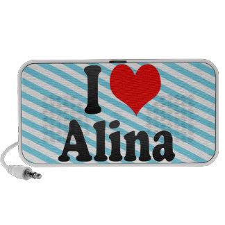 I love Alina iPod Speakers