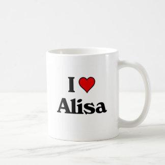I love alisa. coffee mug