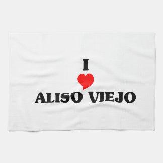 I love Aliso Viejo Hand Towels