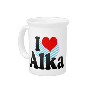 I love Alka Pitcher