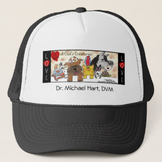 I Love All God's Creatures! Trucker Hat