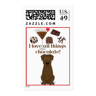 I love all things chocolate! Postage
