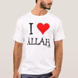 I Love Allah T-Shirt