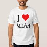 I Love Allah T Shirts