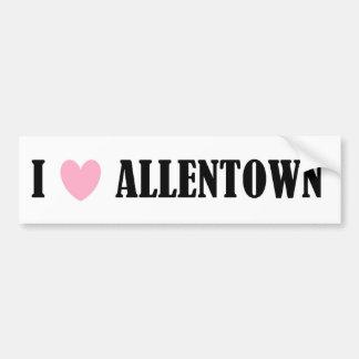 I Love Allentown Bumper Sticker