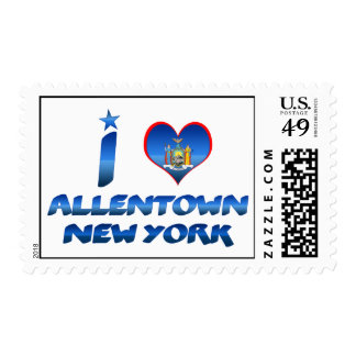 I love Allentown, New York Postage