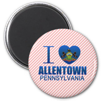 I Love Allentown PA Magnets