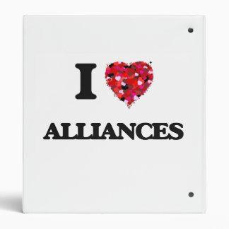 I Love Alliances Binders
