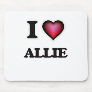 I Love Allie Mouse Pad