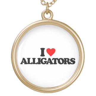 I LOVE ALLIGATORS JEWELRY