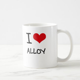 I Love Alloy Coffee Mug