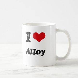 I Love Alloy Mug
