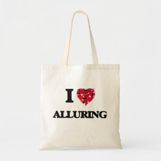 I Love Alluring Budget Tote Bag