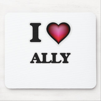 I Love Ally Mouse Pad