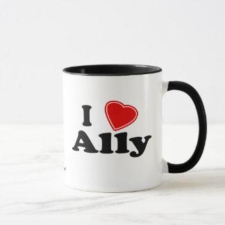 I Love Ally Mug