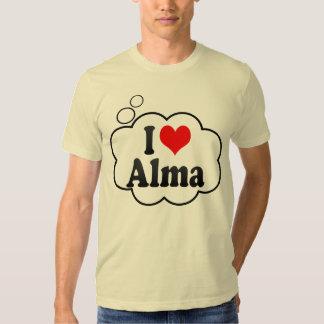 I Love Alma, Canada. I Love Alma, Canada T Shirt