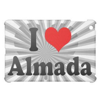 I Love Almada, Portugal. Eu Amo Almada, Portugal iPad Mini Cover
