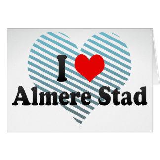 I Love Almere Stad, Netherlands Greeting Cards