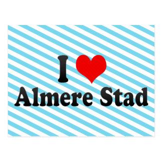 I Love Almere Stad, Netherlands Postcard