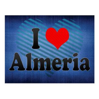 I Love Almeria, Spain. Me Encanta Almeria, Spain Postcard