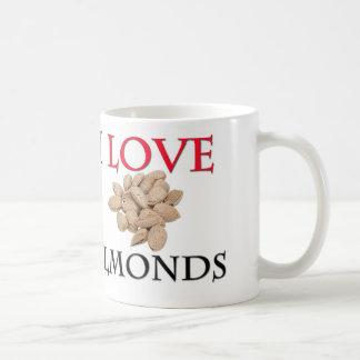 I Love Almonds Coffee Mug