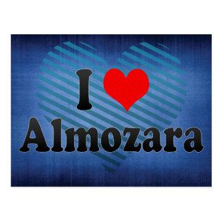 I Love Almozara, Spain Postcard
