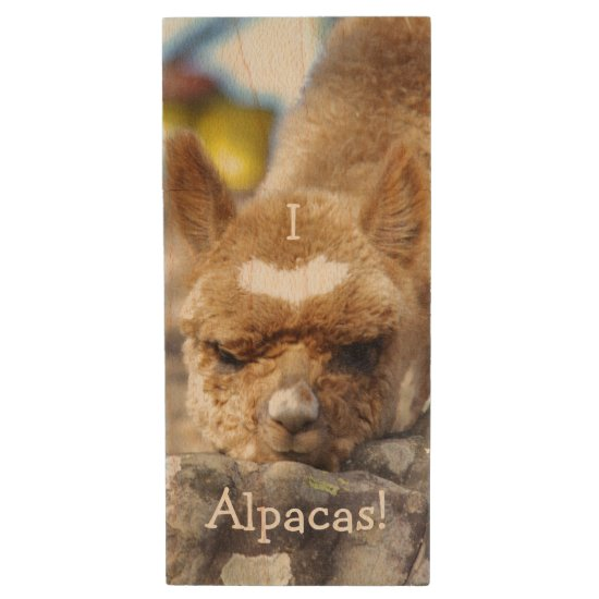 I Love Alpacas Flash Drive