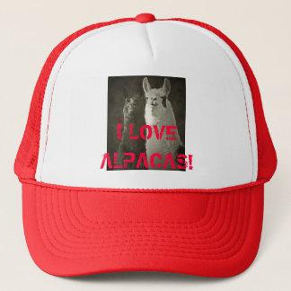 I Love Alpacas! Trucker Hat