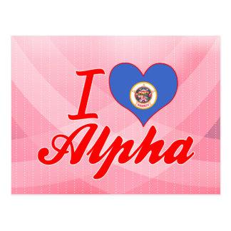 I Love Alpha, Minnesota Post Cards