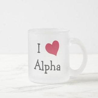 I Love Alpha Mug