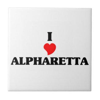I love Alpharetta Small Square Tile