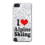 I love Alpine Skiing iPod Touch (5th Generation) Cases