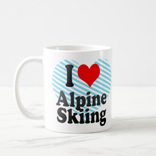 I love Alpine Skiing Mug