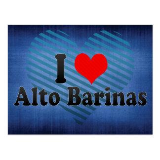 I Love Alto Barinas, Venezuela Postcard