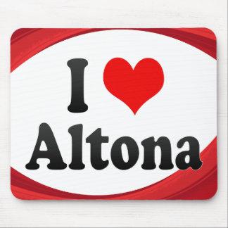 I Love Altona Germany Ich Liebe Altona Germany Mousepad