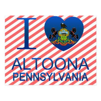 I Love Altoona, PA Postcard