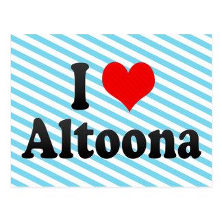 I Love Altoona, United States Postcard