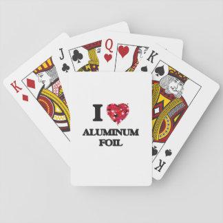 I love Aluminum Foil Poker Deck