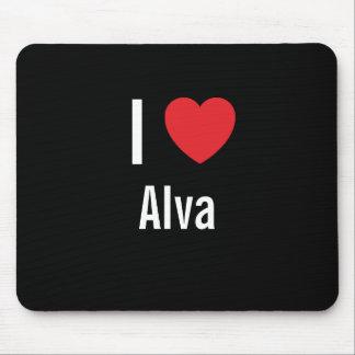 I love Alva Mouse Pads