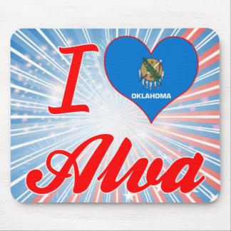 I Love Alva, Oklahoma Mousepad