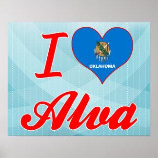 I Love Alva, Oklahoma Posters