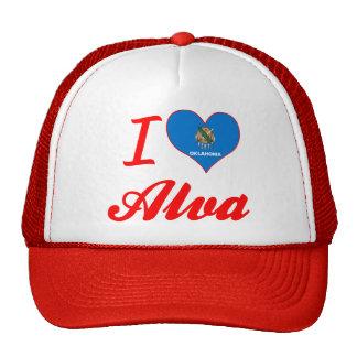 I Love Alva, Oklahoma Trucker Hat