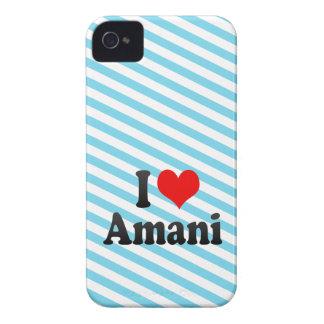 I love Amani iPhone 4 Cover
