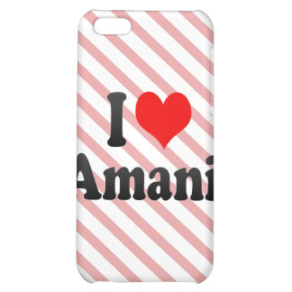 I love Amani Case For iPhone 5C