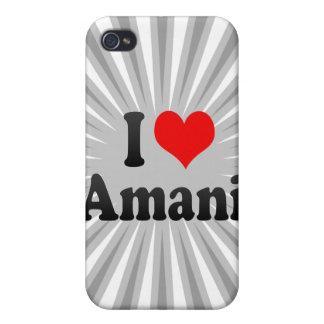 I love Amani iPhone 4 Covers