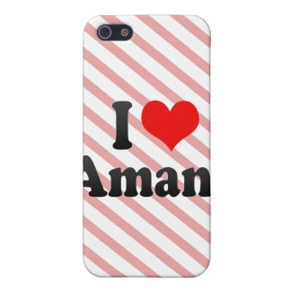 I love Amani Cases For iPhone 5