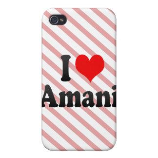 I love Amani iPhone 4/4S Cover
