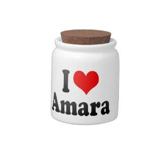 I love Amara Candy Jar