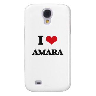 I Love Amara Samsung Galaxy S4 Cases